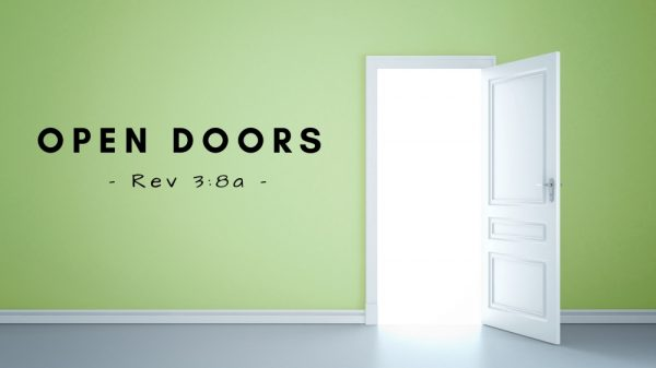 Open Doors Are A Choice Image